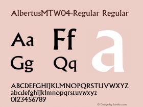 AlbertusMT-Regular