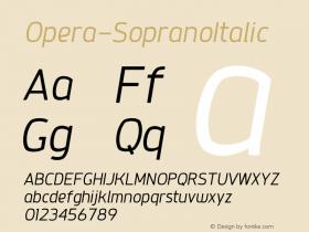 Opera-SopranoItalic