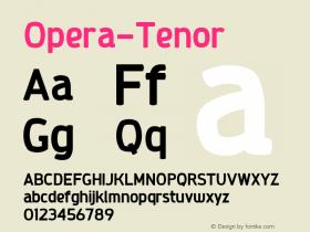 Opera-Tenor