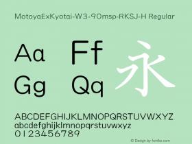 MotoyaExKyotai-W3-90msp-RKSJ-H