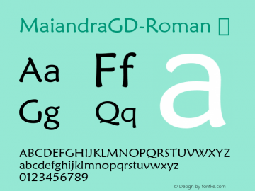 MaiandraGD-Roman