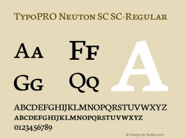 TypoPRO Neuton SC