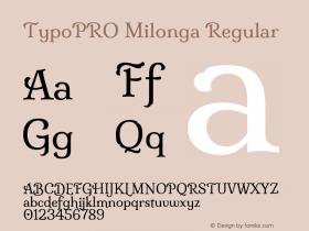 TypoPRO Milonga