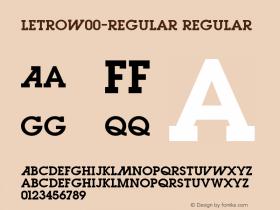 Letro-Regular