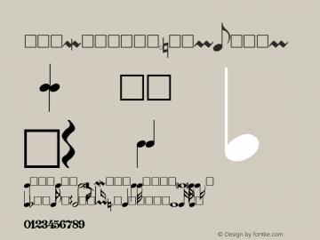 PG Music Font