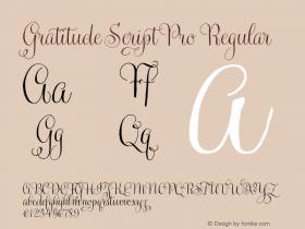Gratitude Script Pro