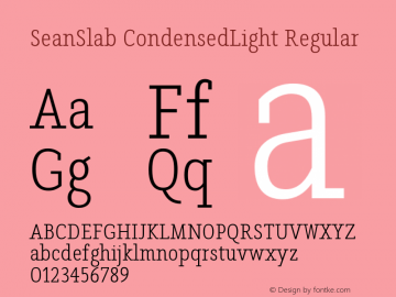 SeanSlab CondensedLight