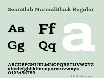 SeanSlab NormalBlack