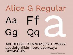 Alice G