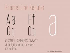 Enamel Line