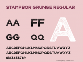 Stampbor Grunge