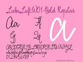 LubaLuft-Bold