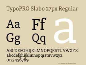 TypoPRO Slabo 27px