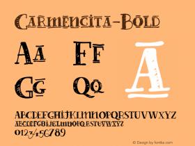 Carmencita-Bold