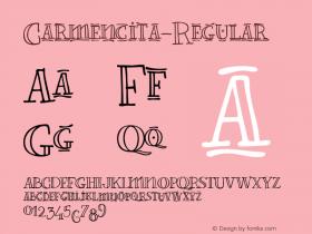 Carmencita-Regular