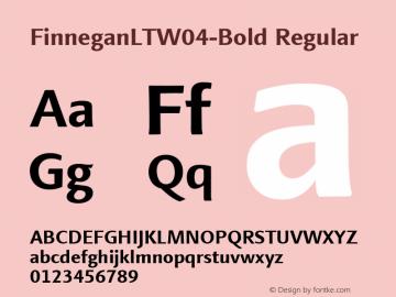 FinneganLT-Bold