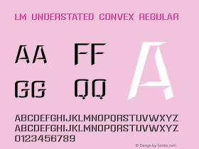 LM Understated Convex