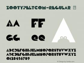 ZootypeLTCom-Regular
