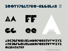 ZootypeLTPro-Regular