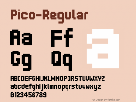 Pico-Regular