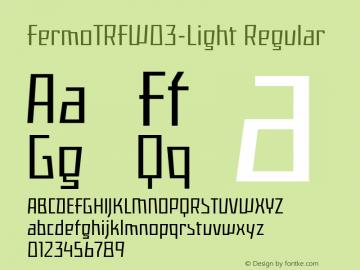 FermoTRF-Light
