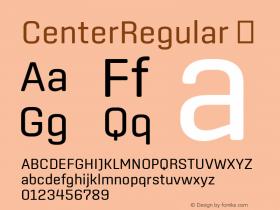 CenterRegular