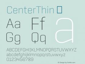 CenterThin