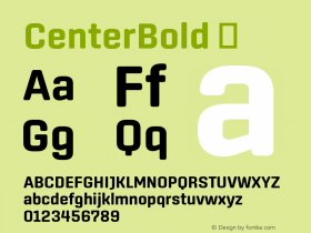 CenterBold