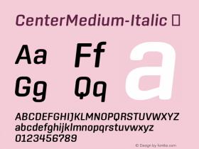 CenterMedium-Italic