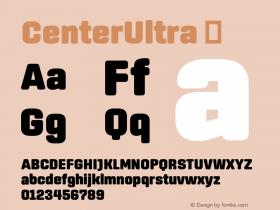 CenterUltra