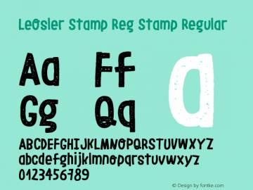 LeOsler Stamp Reg