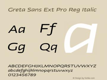 Greta Sans Ext Pro Reg