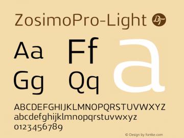 ZosimoPro-Light
