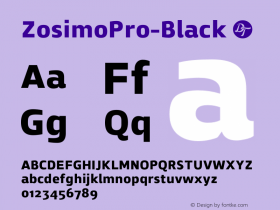 ZosimoPro-Black
