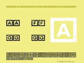 Woodkit Reprint Pro Alphabet A