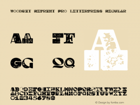 Woodkit Reprint Pro Letterpress