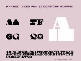 Woodkit Solid Pro Letterpress