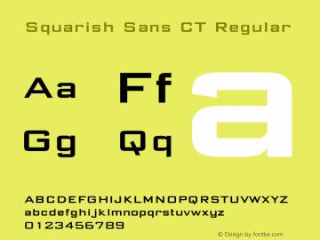 Squarish Sans CT