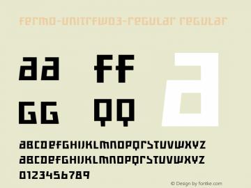 Fermo-UniTRF-Regular
