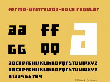 Fermo-UniTRF-Bold