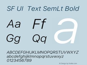 SF UI Text SemLt