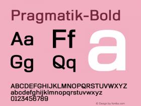 Pragmatik-Bold