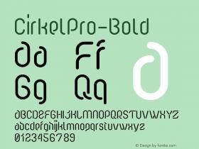 CirkelPro-Bold