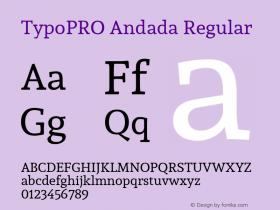 TypoPRO Andada