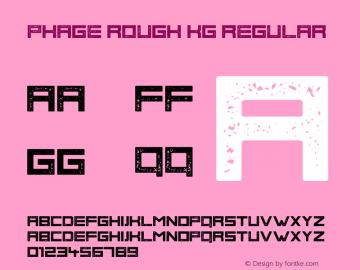 Phage Rough KG
