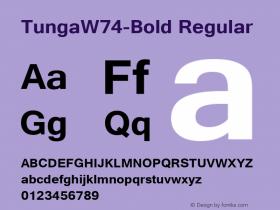 Tunga-Bold