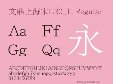 文鼎上海宋G30_L