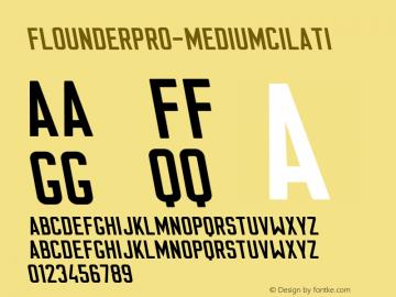 FlounderPro-MediumCilati