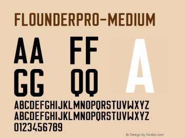 FlounderPro-Medium