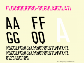 FlounderPro-RegularCilati